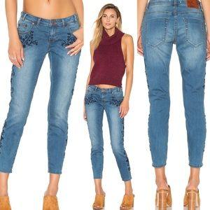 Revolve One Teaspoon Lola Freebirds II Jeans Blue